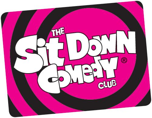 Sit Down Comedy Club logo